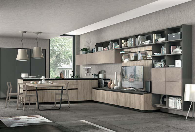cucina lube salerno modello immagina lux