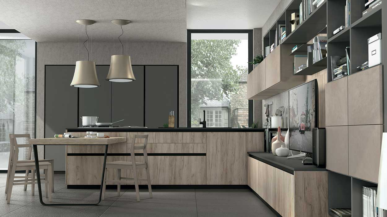 Cucine Lube Creo Kitchen - De Caro Arredamenti Battipaglia Salerno