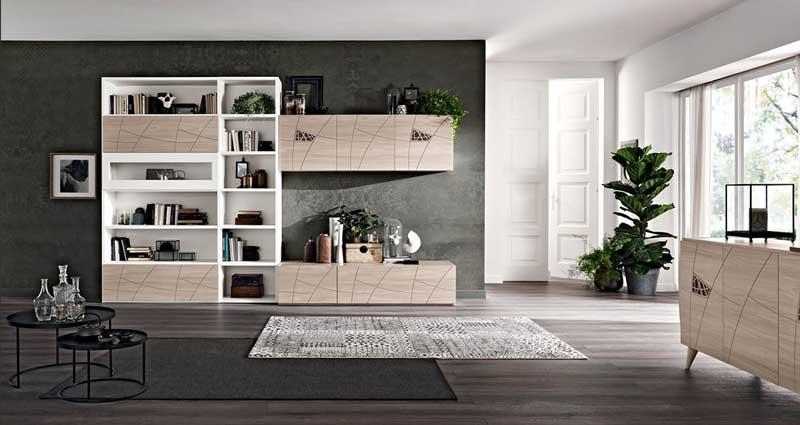 Beautiful soggiorno spar contemporary house design ideas for De caro arredamenti
